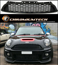 Black Grill for 2012-14 MINI Cooper/S/ONE Coupe R58 Roadste R59 Honeycomb Style