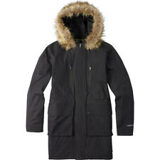 BURTON  womens Olympus Black Jacket  parka size  MEDIUM retail $249