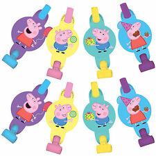 Peppa Pig Blowouts Birthday Decorations Party Favor Supplies ~ 8 Counts