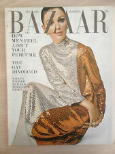 "Magazine Harper's BAZAAR November 1966 ""How to feel about your Perfume""  Mode"