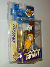 McFarlane NBA 18 Los Angeles Lakers Kobe Bryant Action Figure Yellow New MIMB