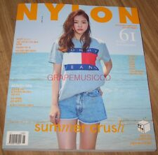 NYLON APINK NAEUN XIA JUNSU WOOHYUN INFINITE KOREA ISSUE MAGAZINE 2016 JUNE NEW
