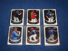 PEDRO RUIZ ARIZONA DIAMONDBACKS 2013 BOWMAN CHROME PROSPECTS BCP71 LOT OF 22