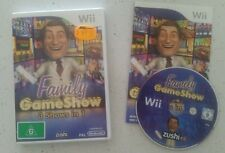 Family Gameshow (Nintendo Wii, 2009) Complete - Fast Free Post!