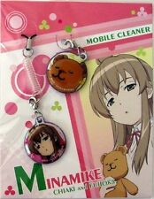 Minami-ke Chiaki and Fujioka Screen Wiper Phone Strap Licensed NEW