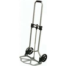 45KG FOLDING SACK TRUCK ALUMINIUM LUGGAGE FOLDABLE TROLLEY CART LIFTER