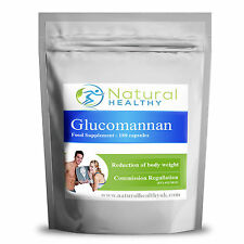 90 GLUCOMANNAN KONJAC FIBRE 500MG WEIGHT LOSS - BODY WEIGHT REDUCER DIET PILLS