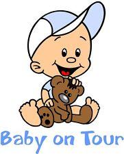 BUNTE Babyaufkleber,Kinderaufkleber,Autoaufkleber,Geschwisteraufkleber GAB30