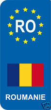 2 Stickers Europe ROUMANIE RO