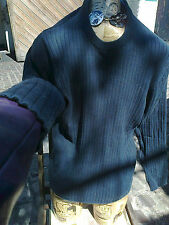 GAP L/G Blue Cotton Jumper ~ mEns pullover / long sleeve top