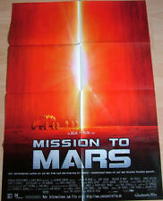 Gary Sinise MISSION TO MARS original Kino Plakat  A1