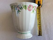 "ROYAL WORCESTER ENGLISH GARDEN 5"" BONE CHINA VASE BEAUTIFUL CONDITION BACKSTAMPD"