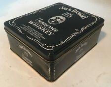 JACK DANIELS EMPTY COLLECTABLE TIN - BOX CONTAINER WHISKEY WHISKY