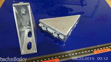 4 St.  Nut 10 Alu Winkel Aluprofil CNC Fräse 43x100x100 mm NR12