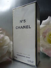 CHANEL No5 EDP 35ml 1oz FABULOUS RARE VINTAGE 1990s SEALED BOX & CHANEL GIFTWRAP