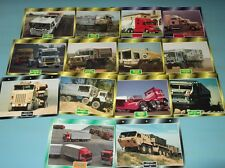 14 Atlas Editions Truck Collector Cards ( Pack 42; Various 3 )