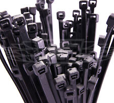 500 BLACK CABLE TIES, 4.8mm x 300mm PLUS 500 FREE 2.5 x 100 BLACK CABLE TIES