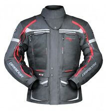 L Mens Dririder Vortex 2 Jacket All Seasons Touring Vented Motorbike $449 Red