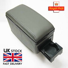 Universal Grey Armrest Centre Console Fits Vw Polo Lupo 86C 6N1 6N2 6 K 9N Jetta