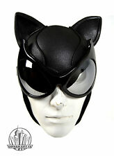 Batman Arkham City Cat woman Cowl With Mirrored Goggles Cosplay