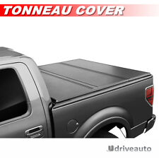 Lock Tri-Fold Hard Solid Tonneau Cover For 07-16 TOYOTA TUNDRA 6.5ft/78in Bed