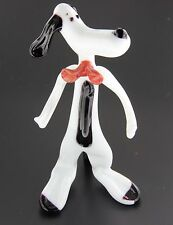 Scultura Murano Collection Cane Snoopy Vetro di Murano Made in Italy