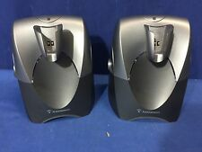 Lot of Plantronics 2 CS50 charging bases FREE SHIPPING US SELLER