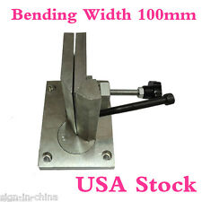 USA Stock--Dual-axis Metal Channel Letter Angle Bender Tools-Bending Width 100mm