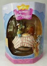 RARE ENESCO DISNEY LADY AND THE TRAMP MOTION ORNAMENT 657263