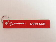 Boeing Laser SDB Remove Before Flight Tag Keychain