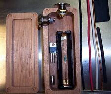 MAHOGANY Wood Box Mod DIY Kit 18650 Enclosure Mosfet Hammond 1590A ++ AUTHENTIC
