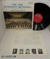 NHK SYMPHONY ORCHESTRA Iwaki JAPAN IMPORT 1969 King LP #SKR 1012 Classical FLUTE