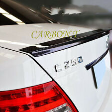 Real Carbon Fiber Trunk Spoiler 08-13 D-Performance W204 C200 C250 C300  C63AMG