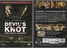 DEVIL'S KNOT - FINO A PROVA CONTRARIA - DVD (USATO EX RENTAL)