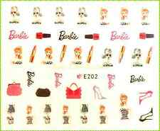 Nagelsticker - Nail - Aufkleber - Nailart - Nail Sticker - Barbie 202