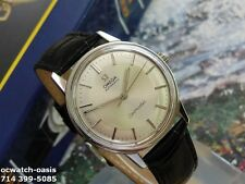 1968 Vintage OMEGA Seamaster Automatic, Seahorse BACK, Serviced, 1 Year Warranty