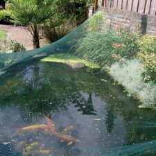 Teichnetz Laubnetz Gartennetz, UV-stabilisiertes Polyethylen, 4 x 5 m, grün