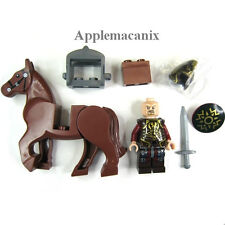 NEW LEGO Lord of the Rings LOTR 9474 Helm's Deep KING THEODEN Minifigure w/Horse