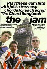 The Jam The Chord Songbook Learn to Play Pop Rock Guitar Lyrics Music Book START