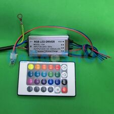 10W RGB AC Waterproof 85-265V Power Supply Driver for LED Light + Remote control