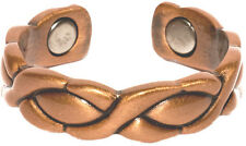Copper XOXO - Magnetic Therapy Ring Magnet Finger