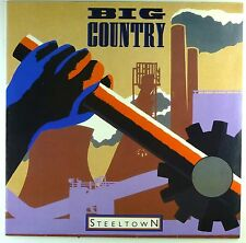 "12"" LP - Big Country - Steeltown - M796 - washed & cleaned"