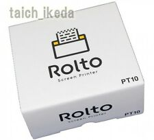 Rolto iPhone Screen Printer by King Jim - Mobile wifi mini printer japan new