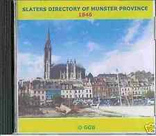 GENEALOGY DIRECTORY OF MUNSTER 1846 CD ROM