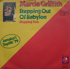 "7"" 1979! MARCIA GRIFFITH Stepping Out Of Babylon /VG++"
