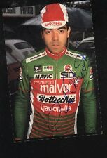 PICCOLO Photo Signée cyclisme MALVOR BOTTECCHIA ciclismo autographe Cycling vélo