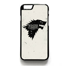 Game of Thrones Plastic Hard Back Case For iPhone 4/4s 5/5s 6/6s Plus iPod Touch