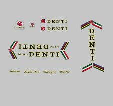Mino Denti Bicycle Frame Decals - Transfers - Stickers n.102