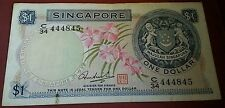 Willie: Singapore Orchid 1 dollar