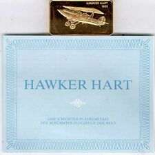 Janes Register in Edelmetall:Hawker Hart
